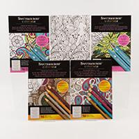 Spectrum Noir Colorista A4 Marker Pad & Pencil Pad Collection-724727