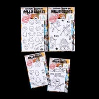 AALL & Create Set of 4 Stamps - Rocking Corns, Quirks, Rocking So-725194