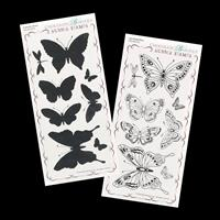 Chocolate Baroque Just Butterflies & Butterfly Blush DL Stamp She-725845