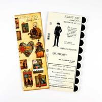 Art Studio 490 Stamp Set - Dressed For Art - 7 Stamps Total-728510