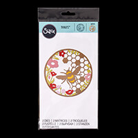 Sizzix® Thinlits™ Set of 2 Dies - Honey Bee-729468