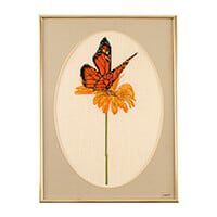 Thea Gouverneur Butterfly Cross Stitch Kit on Aida - 24 x 33cm-730382
