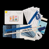 Daisy and Grace Chambray Sewing Book Complete Kit-730566