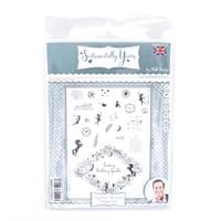 Sentimentally Yours Mystical Moments A5 Frame Stamp Set - 24 Stam-730602