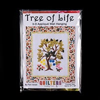 Quilter's Trading Post Tree of Life Applique Wall Hanging Pattern-732459