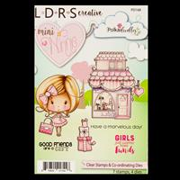 Little Darlings Mini Winnie Boutique Stamp and Die Set - 7 Stamps-733096
