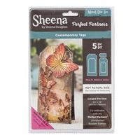 Sheena Perfect Partners Die Set - Contemporary Tags - 5 Dies-734696
