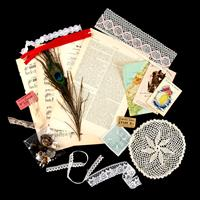 Simply Vintage Mixed Media Craft Inspiration Pack-736197