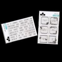 Craftwork Cards Simplicity and Label Tape Words Stamp Duo - 43 St-737328