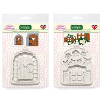 Sugar Buttons - Enchanted Door & Enchanted Window Silicone Mould -737897