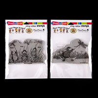 Stampendous House Mouse 2 x Stamp Sets - Dragonfly kites & Dragon-738128