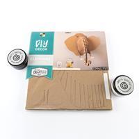 DCWV 3D Craft Project - Elephant & 2 x Acrylic Mixed Media Paints-738850