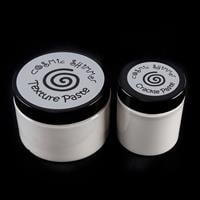 Cosmic Shimmer Clear Texture Paste & White Crackle Paste Set-741687