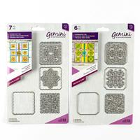 Gemini Create a Card Dies - Doily and Swirls Patchwork - 13 Dies-744728