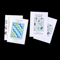 Cotton Cocktails Fat Quarter Quilts - 2 Pattern Bundle-745106