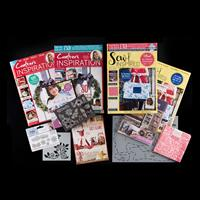 Crafter's Inspiration Issue 20 & Sew Inspired Issue 13-745326