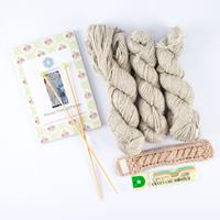 The Lace Knittery Penryn Poncho Cable Knit Kit-747737