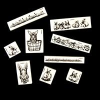 LaBlanche™ Set of 9 Premounted Stamps - Easter-749007