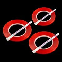 Set of 3 Rolls of 6mm Red Liner Tape - 90 Metres Total with 3 x S-750340