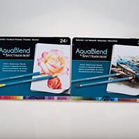 Spectrum Aquablend Pencils - Florals & Naturals - 48 Pieces-753047