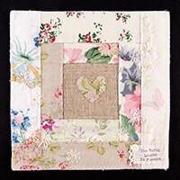 Tilly Rose Nature's Embroidery Sampler Kit - Fabrics, Backing, He-753622