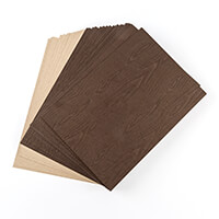 Dolly Dimples 25 Sheets of Kraft and 25 Sheets of Woodgrain Cards-754036