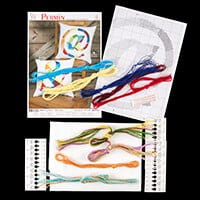 Permin Symbol Design Aida Cushion Kit - 40cm x 40cm-755497