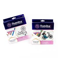 Threaders Embroidery Kit - Vintage Trail & Dream Catcher-758001