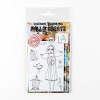 AALL & Create Stamp Set - Girlz with Wingz - 8 Stamps-758994