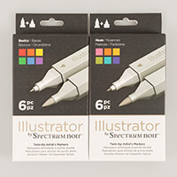 Spectrum Noir Illustrator 6 Pens-759774