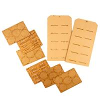 That's Crafty! 2 x MDF Display Hanging Tag with 20 x ATCoins-762161