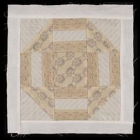 Handmade by Hayley Cut and Quilt Block Churn Dash - 100% Cotton-764825