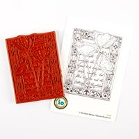 Impression Obsession Poppy Collage Stamp-766033