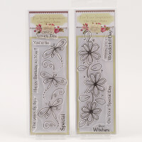 Which Craft? Book Mark Size Stamps Set of 2 - Wonderful Day & Hav-766748