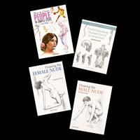 Search Press Set of 4 Books - Human Form-767626