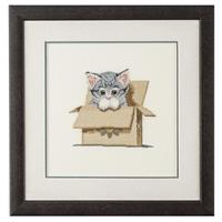 Heritage Cat in Box Cross Stitch Kit-768912