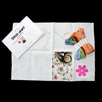 Craft Yourself Silly Stitch-onary Satin Stitch Pack - Template wi-771815