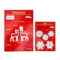 CREAlies Reindeer & Snowflakes Die Sets - 7 Dies-771820