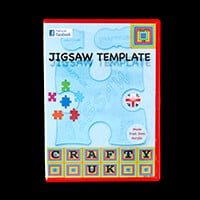 Crafty UK Jigsaw Template Set-774723