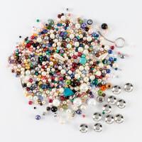 Kelanash Designs 150g Mixed Bag of Beads with 10 x Reel Beads-775384