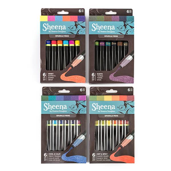 Sheena Douglass Complete Sparkle Pen Collection - 24 x Pens-775386