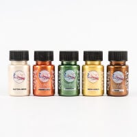 Imagination Crafts 5 x 50ml Starlight Paints - Tip Toe Into Autum-775961