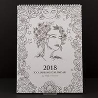 Kelly O'Gorman 2018 Calendar - 40 x 29cm, 250gsm-777030