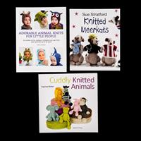 Set of 3 Knitting Books - Cuddly Knitted Animals, Knitted Meerkat-780278