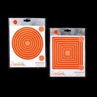 Tonic Square & Circle Layering Die Sets - 28 Dies-780777