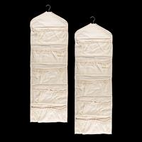 Set of 2 Hanging Fabric Organisers - 20 Pockets Each - 40 Pockets-781171