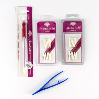 Pergamano Blending Pen Kit - 1 x Tool with 23 Nibs and Tweezers-781285