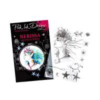 Pink Ink Designs A5 Nerissa Photopolymer Stamp Set - 1 Main Stamp-785518