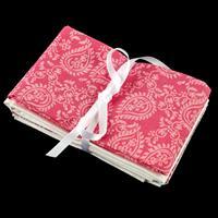 Daisy & Grace Pink & White Fabric Bundle - Includes 4 x Fat Quart-787463