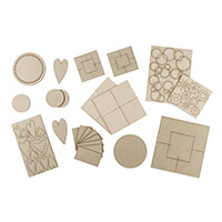 Tando Creative Embellishment Pack - Approximately 60 Pieces-788677
